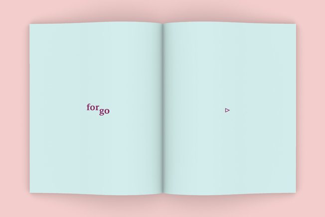 Connie Yoo. Forgo